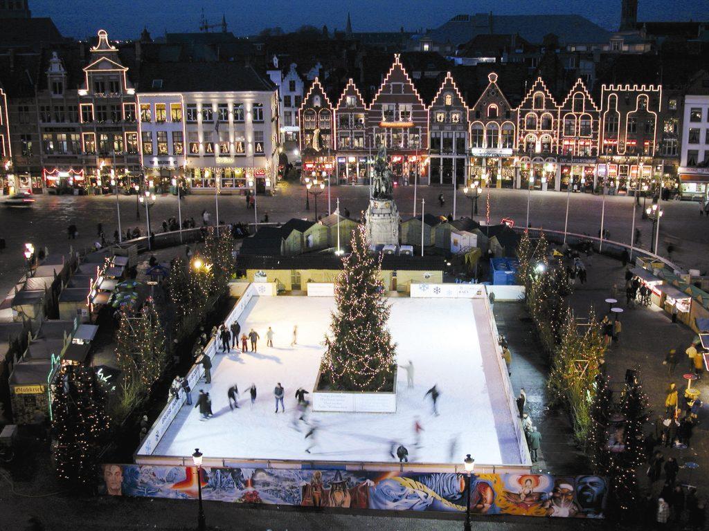 Sfeerfoto kerstmarkt